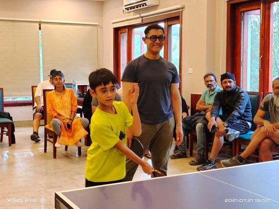 आमिर खान ने  टेबल टेनिस टूर्नामेंट का उठाया लुत्फ: अनिल बेदाग़