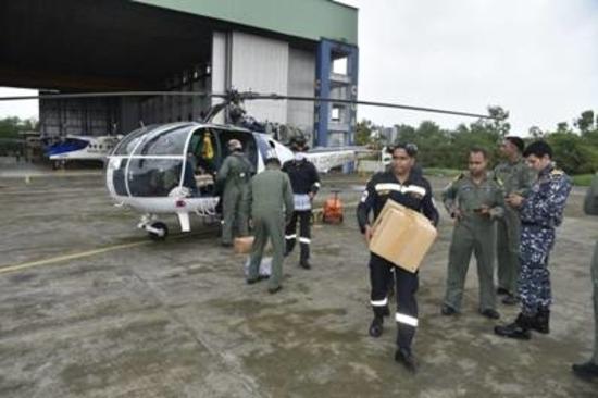 महाराष्ट्र, गोवा और कर्नाटक के बाढ़ प्रभावित क्षेत्रों में भारतीय तटरक्षक के राहत और बचाव प्रयास