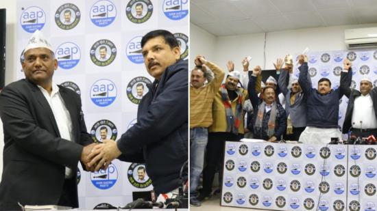 BREAKING NEWS: भाजपा को दिल्ली में बड़ा झटका - भारतीय मज़दूर संघ (BMS) के दिल्ली प्रदेश अध्यक्ष देवराज भड़ाना अपने हज़ारों समर्थकों के साथ