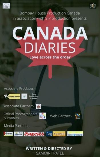 नई इंडो कैनेडियन वेब सीरीज़ 'कनाडा डायरी (लव एक्रोस दी आर्डर)