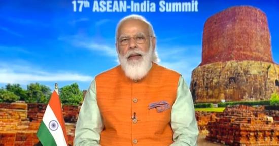 17 वें भारत-आसियान आभासी शिखर सम्मेलन में प्रधानमंत्री का सम्बोधन