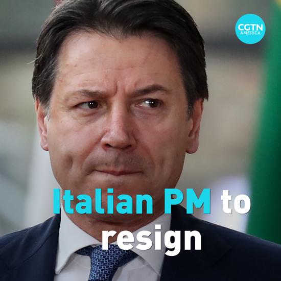 बड़ी खबर: इटली के प्रधानमंत्री ग्यूसेप कोंटे आज (मंगलवार) को इस्तीफा!
