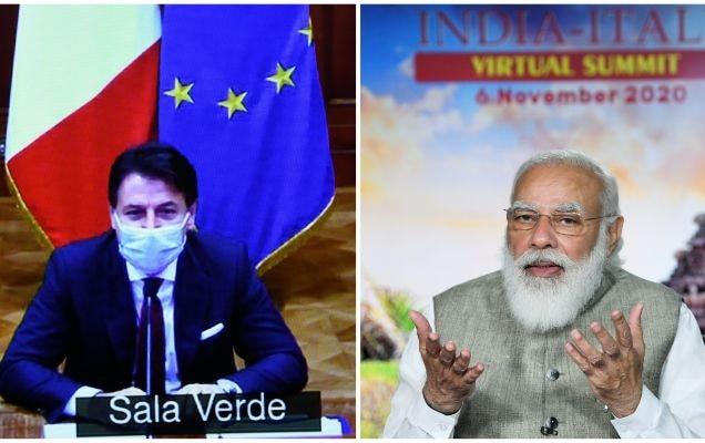 इटली के प्रधानमंत्री के साथ आभासी द्विपक्षीय शिखर सम्मेलन में प्रधानमंत्री का संबोधन