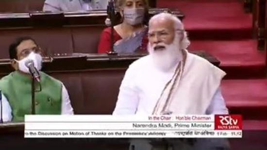राज्या सभा में प्रधानमंत्री द्वारा राष्ट्रपति के अभिभाषण पर धन्यवाद प्रस्ताव का मूल पाठ भाग- 1