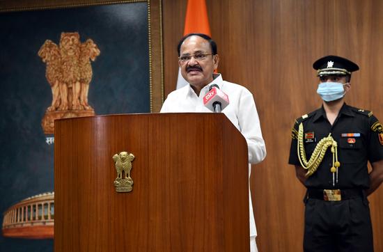 उप राष्ट्रपति की दूसरे देशों को भारत के आंतरिक मामलों में टिप्पणी करने से बचने की सलाह