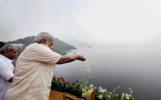 प्रधानमंत्री 17 सितंबर को सरदार सरोवर बांध के पूरा भरने की घटना के गवाह बनेंगे