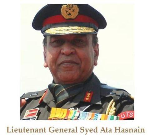 सेवानिवृत्त लेफ्टिनेंट जनरल सैयद अता हसनैन ने की शेरशाह की तारीफ़: अनिल बेदाग़