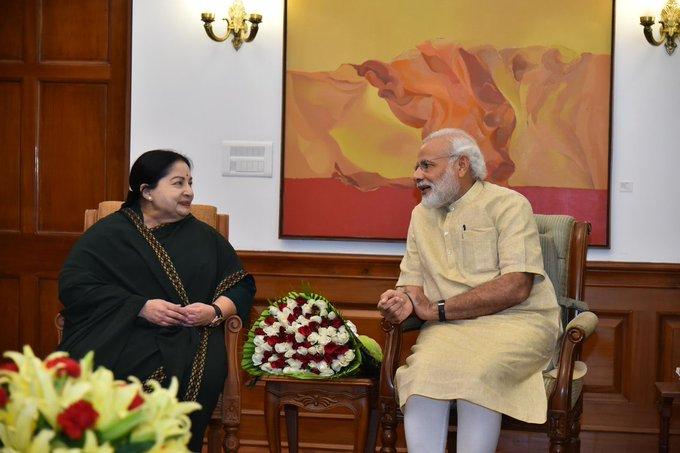 प्रधानमंत्री ने जे. जयललिता की जयंती पर उन्हें याद किया