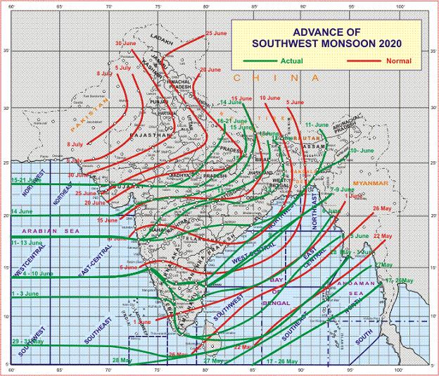 अगले 5 दिनों के दौरान पूर्वोत्तर भारत में और अगले 2-3 दिनों के दौरान पूर्व एवं उससे सटे मध्य भारत में भारी से बहुत भारी वर्षा होने की संभावना: पृथ्वी विज्ञान मंत्रालय