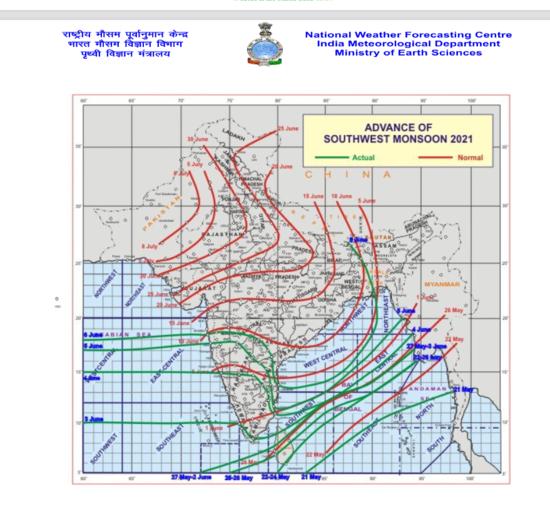 असम, मेघालय, उप-हिमालयी पश्चिम बंगाल और सिक्किम में कुछ स्थानों पर आज और 10 जून को ओडिशा में भारी से बहुत भारी वर्षा की काफी संभावना: पृथ्वी विज्ञान मंत्रालय