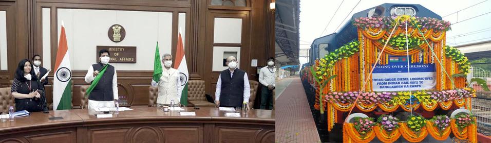 भारतीय रेलवे ने बांग्लादेश को 10 ब्रॉडगेज इंजन सौंपे: रेल मंत्रालय