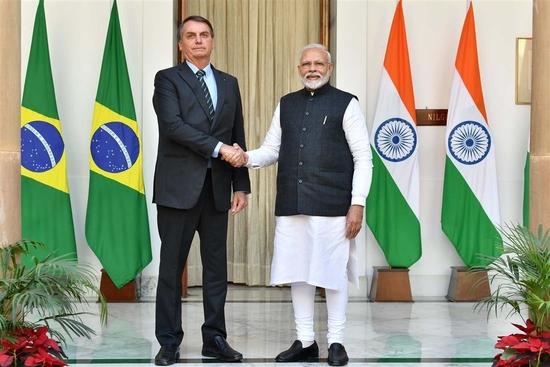 ब्राजील के राष्ट्रपति की राजकीय यात्रा के दौरान प्रधान मंत्री द्वारा मीडिया वक्तव्य (जनवरी 25, 2020)